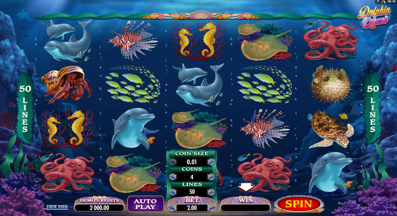 DOLPHINS PEARL  Free Slot Games Free Online Games
