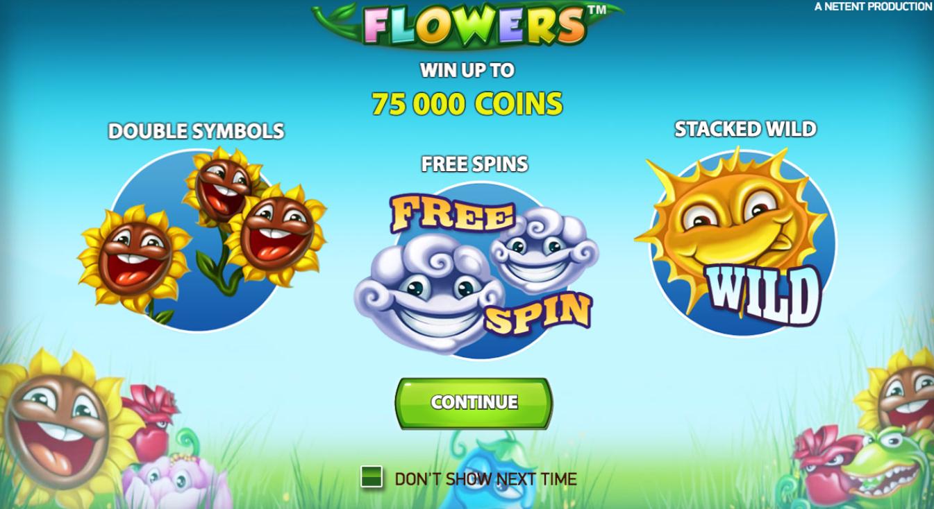 Flowers - Rizk Casino