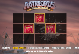 Warlords: Crystal of Power Slot