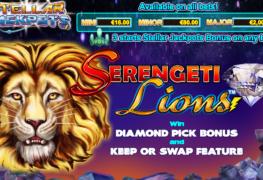 Serengeti Lions Stellar Jackpots Slot