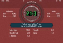 21+3 Blackjack Casino Game