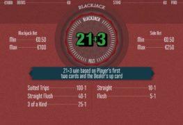 21+3 Blackjack Casino Game