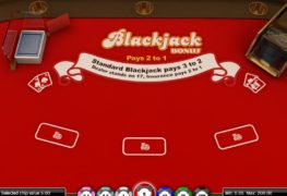 Blackjack Bonus Casino Game