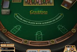 Caribbean Video Poker