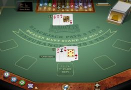 European Blackjack Gold Casino Game