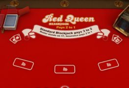 Red Queen Blackjack Casino Game