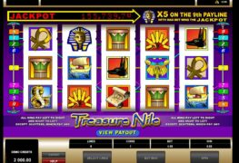 Treasure Nile Slot