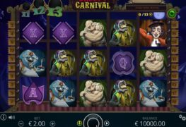 Creepy Carnival Video Slot