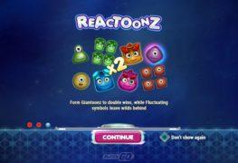 Reactoonz Video Slot
