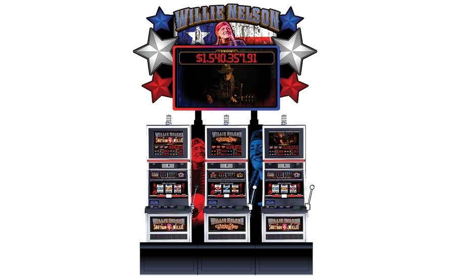 Everi Willie Nelson slots