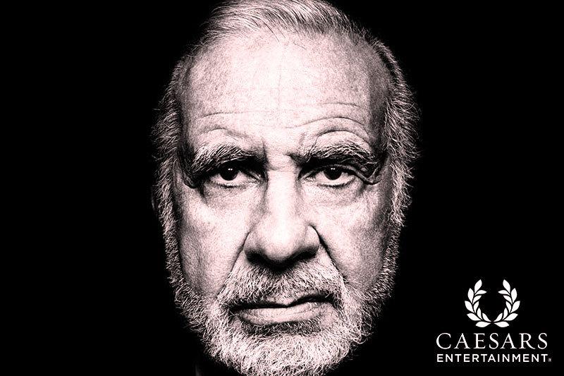 Carl Icahn Stake in Casino Giant Caesars Keeps Growing